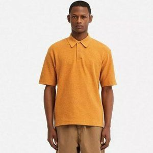 Crepe Jersey Relaxed Polo